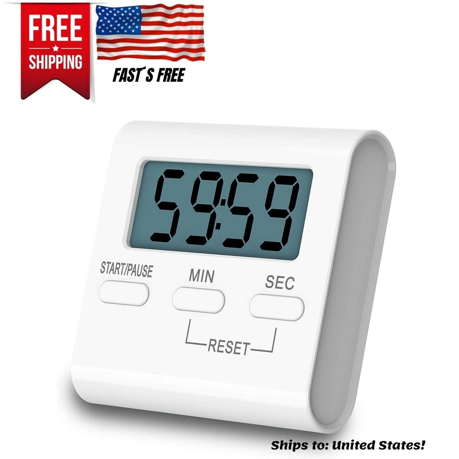 digital kitchen countdown timer teachers classroom counter