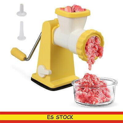 picadora de carne manual Picar Verduras,Carne Molinillo de alimentos salchichas