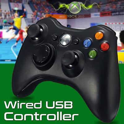 Brand New Xbox 360 Controller USB Wired Game Pad Fits For Microsoft Xbox 360 PC