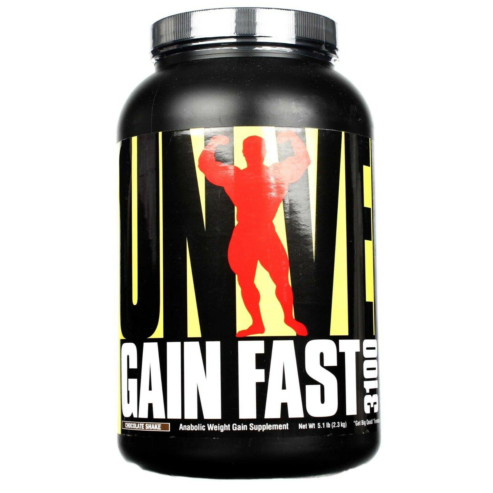 Universal Nutrition GAIN FAST 3100 Protein Mass Weight Gaine