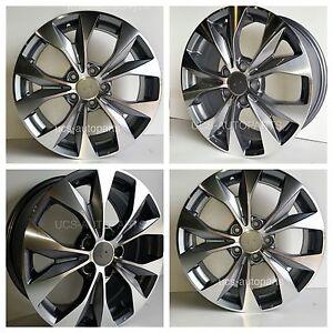 17 honda civic si wheels rims alloy 2006 2014 set of 4 pcs ebay. Black Bedroom Furniture Sets. Home Design Ideas