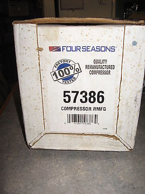 Four Seasons 57386 A/C Compressor 93 94 95 Caravan/Voyager 10PA17K Compressor