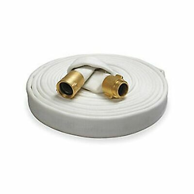 Key Fire Rack & Reel Fire Hose, White, 1-1/2