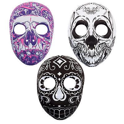 Tag der Toten Totenkopf Geformt Maske - Design Wählbar (Toter Bär Kostüm)