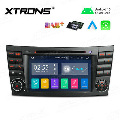 Android 10 Autoradio DVD GPS NAVI DAB+ für Mercedes Benz E/CLS Klasse W211 W219