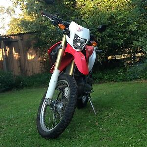2013 crf250l wrecking Maraylya The Hills District Preview