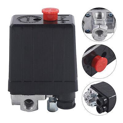 Air Compressor Pressure Switch Control Shut-off Valve 220-240v 175 Psi 20a New
