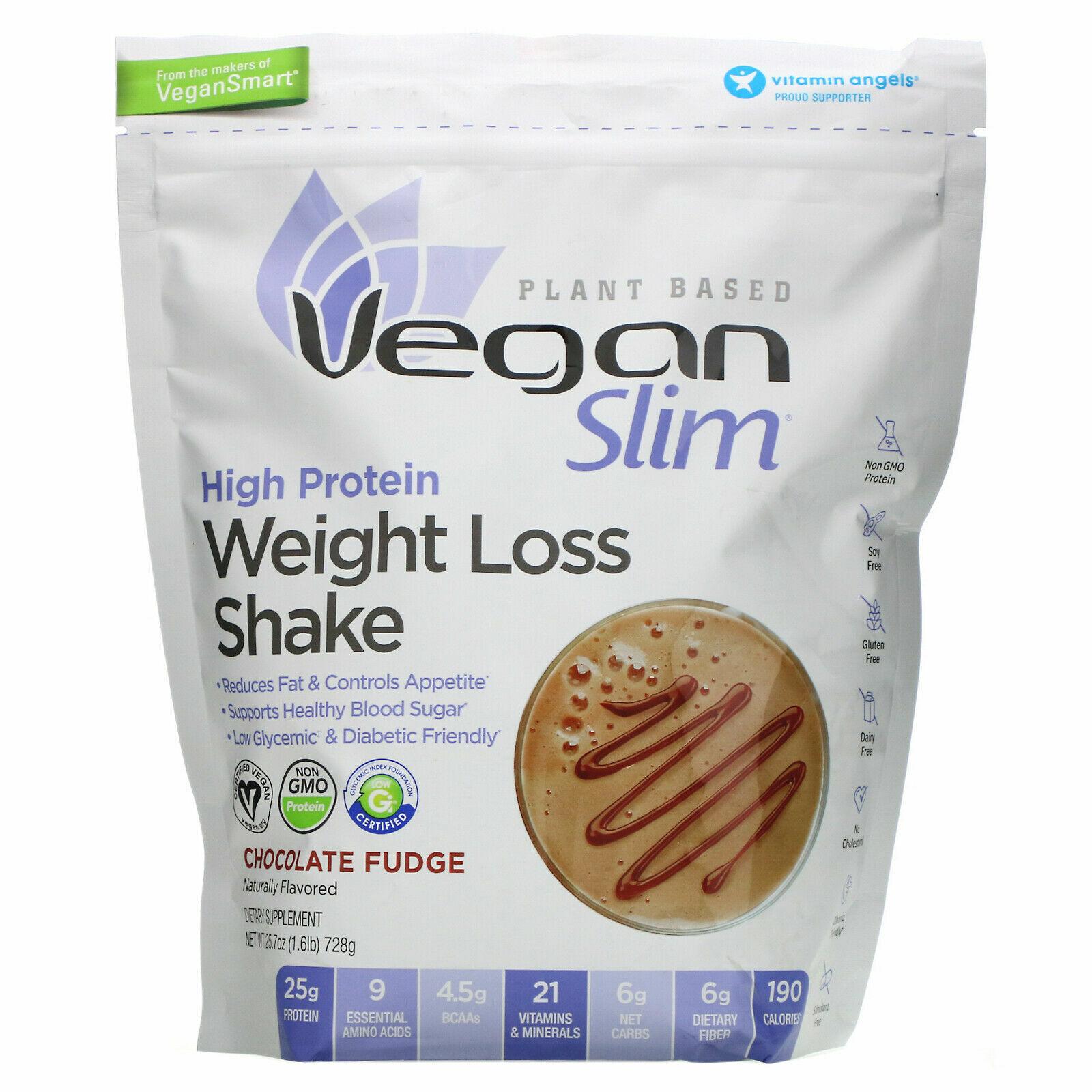 Naturade High Protein Weight Loss Shake, Chocolate Fudge, 1.6 lb