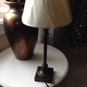 18 Inch Candlestick Lamp .....$15 No Hold