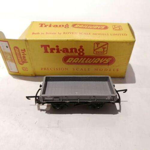 Tri-ang - T.172 - BR 13 Ton Steel Low Sided Wagon B9325 - TT
