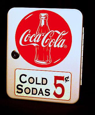 Coca Cola Vintage Era Style Fountain Service Booth  Counter Keybox