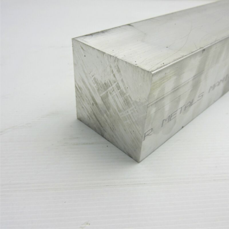 "3"" x 3"" Aluminum  6061 SQUARE Solid  FLAT BAR 10.5"" Long  sku K401"