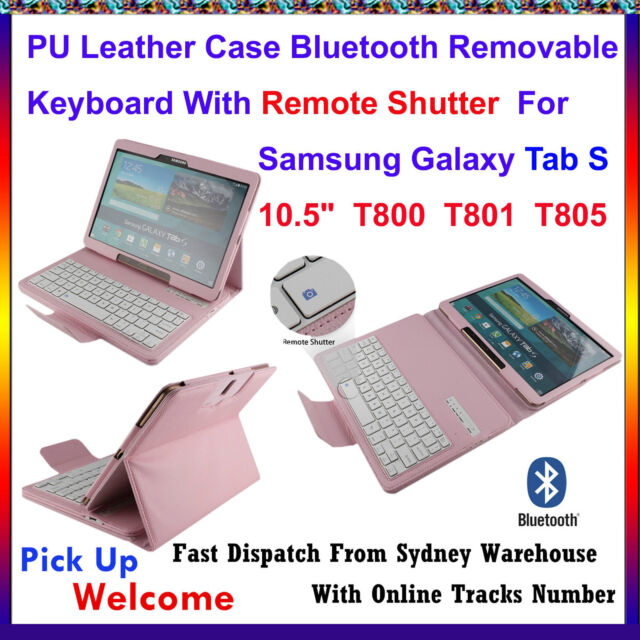 Removable Bluetooth Keyboard Case For Samsung Galaxy Tab S 10.5 T800 T801 T805 P