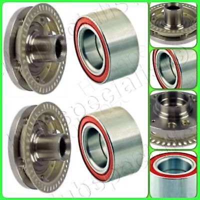 FRONT WHEEL HUB & BEARING FOR AUDI VOLKSWAGEN PAIR FAST SHIPPING 2-3 DAY RECEIVE