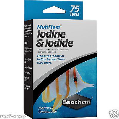 Seachem MultiTest Iodine and Iodide Test Kit