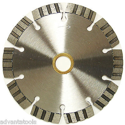 5 Laser Welded Turbo Segmented Diamond Saw Blade For Angle Grinder