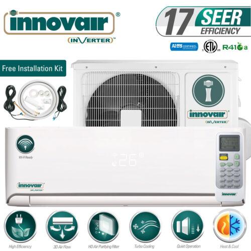 24000 BTU Mini Split Air Conditioner Heat Pump Ductless 230V INNOVAIR 17 SEER
