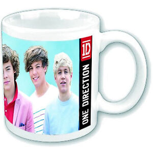 OFFICIAL PRODUCT 1D ONE DIRECTION GROUP SHOT BOXED COFFEE MUG CUP DRINKWARE