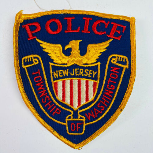 Washington Township Police New Jersey Patch (A2)