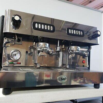 Sv Italia Sab 2-group Automatic Commercial Professional Espresso Coffee Machine