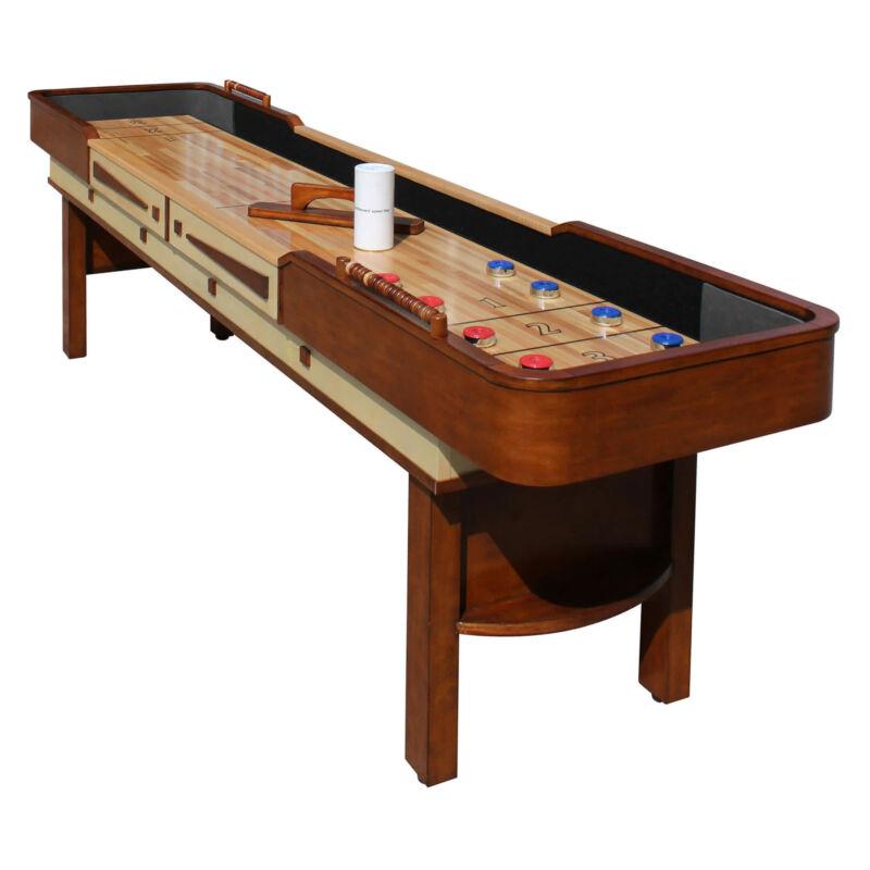 Merlot 9-ft Shuffleboard Table