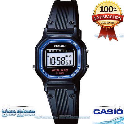 Casio LA11WB-1 Ladies Sport Watch Water Resistant Daily Alarm  Original Brand