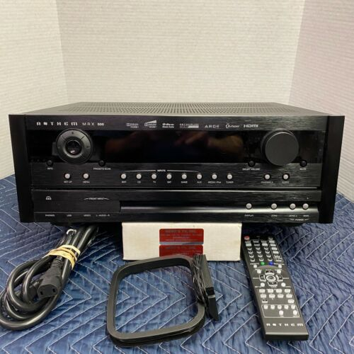 ANTHEM MRX500 SURROUND SOUND RECEIVER - 4 HDMI