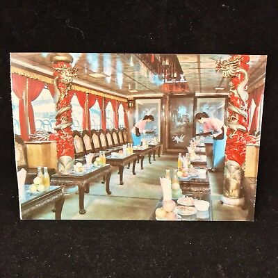 Vintage Post Card The Imperial Boat An Excursion Boat On The Canal Wuxi China