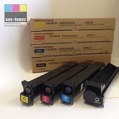 Konica Minolta Bizhub 250 (Toner Black Konica-Minolta Bizhub C250/252 , Develop, TN210K/8938-509/8938-5170)