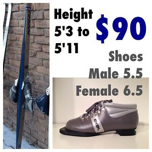 Cross Country Boot & Ski Sets $80 - $90