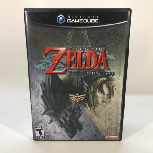 GameCube Replacement Case - Case Only NO GAME - Legend of Zelda - Twilight Princ