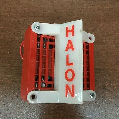 Federal Signal 450d Series B4 Vals Series T1 Halon Hornstrobe - Collectible