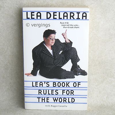 Lea's Book of Rules for the World Lea Delaria 1st Trade Paperback May 2000 on Rummage