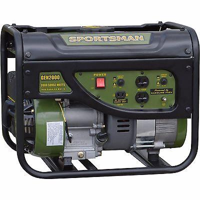 TAX FREE Sportsman Gasoline 2000W Portable Generator
