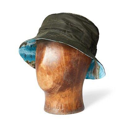 RRL Ralph Lauren Reversible Packable Bucket Hat NWT Medium Packable Bucket