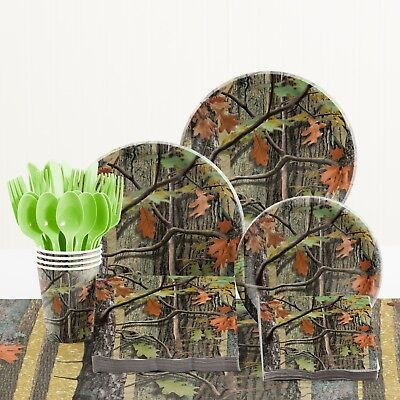 y Party Supplies Kit (Camo Party Supplies)