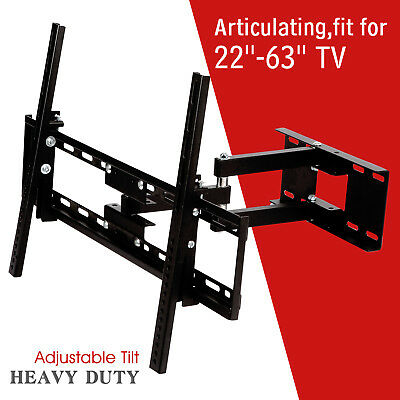 Full Motion TV Wall Mount Bracket 32 46 50 55 60 inch LED LCD Flat Screen
