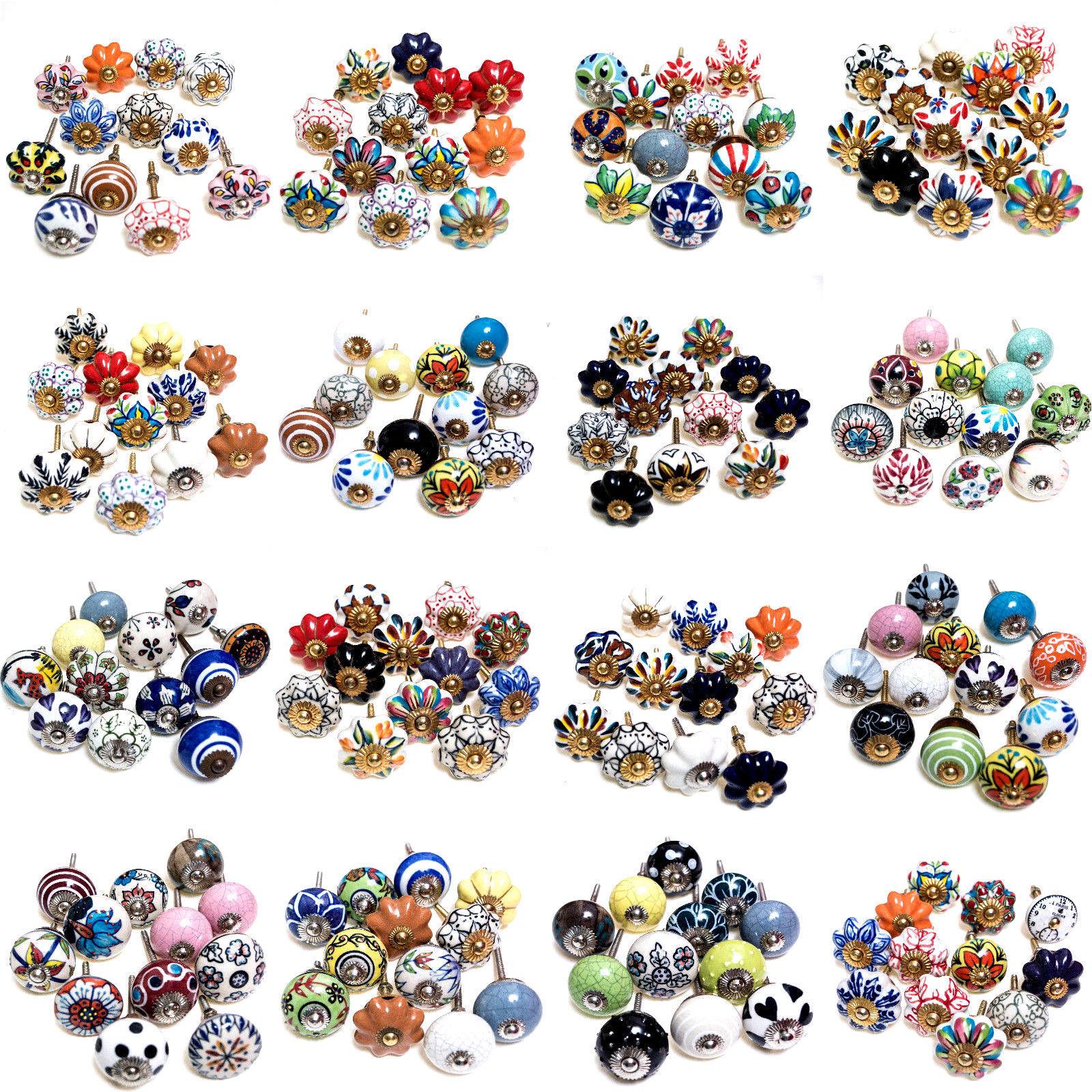 Set 12 Stück Möbelknopf Möbelknöpfe Möbelgriff Komodengriff viele Varianten SALE