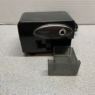 Panasonic Electric Pencil Sharpener Model Kp-310 With Auto-stop Black Tested