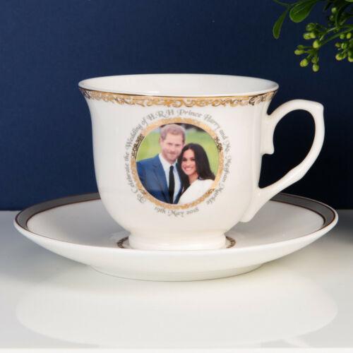 Royal Wedding Harry and Meghan Tea Cup and Saucer