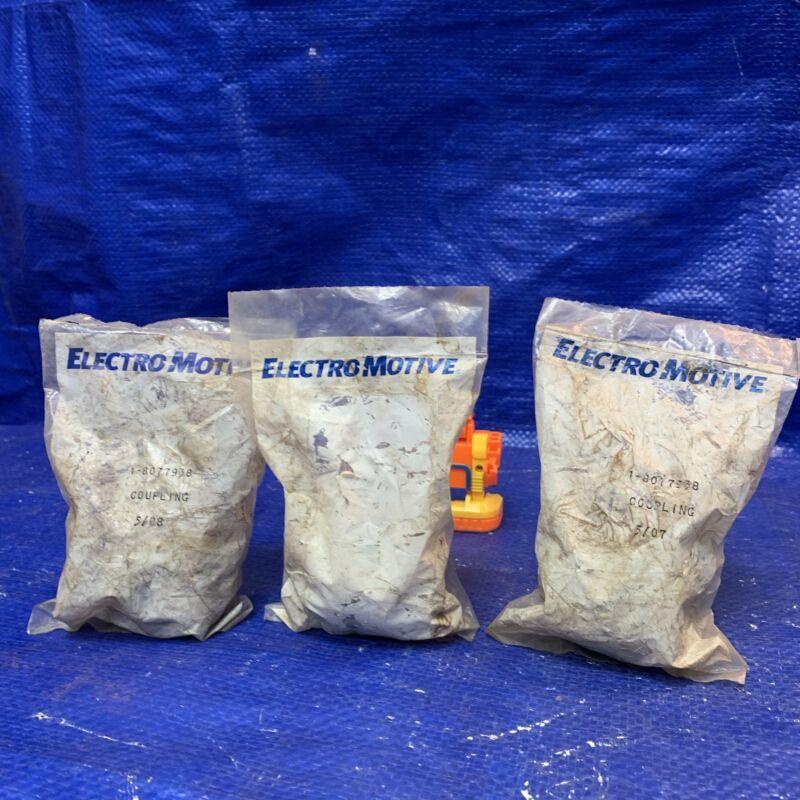 Electro-Motive Diesel EMD 8077938 Coupling, Fuel Pump, *Lot of (3) Couplings*