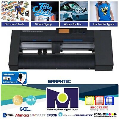 Graphtec Ce7000-40 15 40cms Vinyl Cutterplotter 2 Yeas Warranty Free Shipping