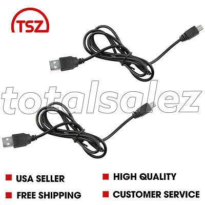 2 For Sony Playstation PS3 Wireless Controller Remote USB Charger Cable Cord
