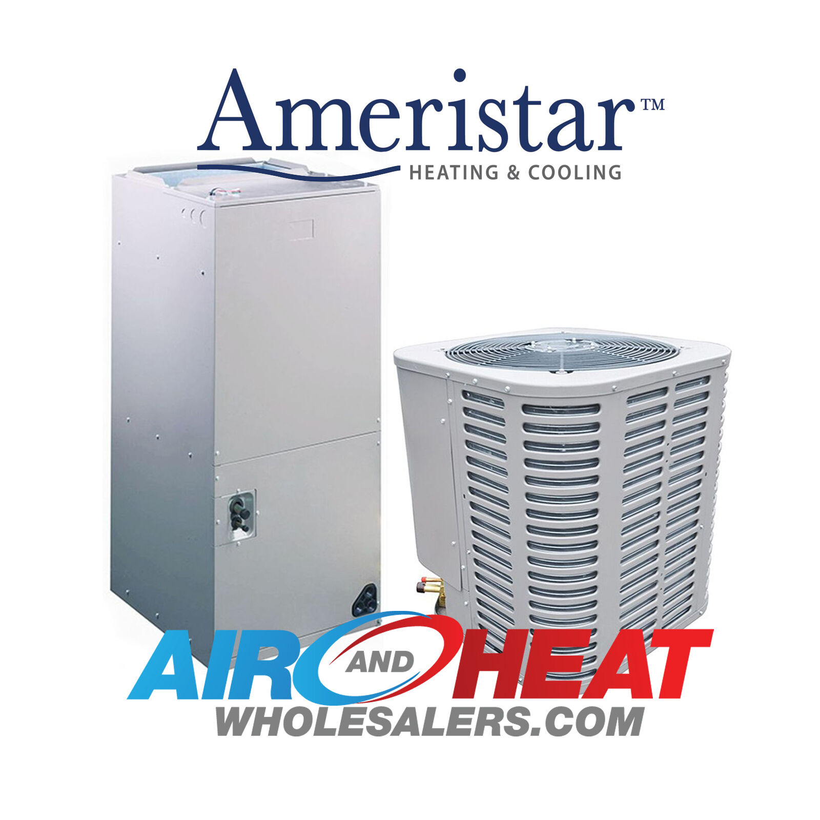 new 2 5 ton ac heat pump