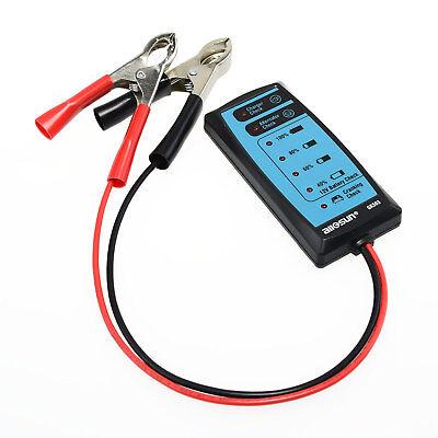 12V Car Battery Tester 6 LED Lights Digital Alternator Tester Auto Load Analyzer Car Battery Load Tester