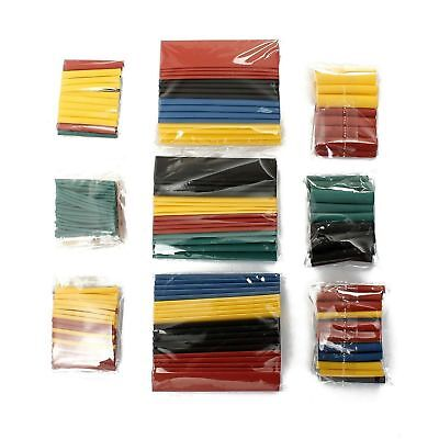 328pc 21 Polyolefin Heat Shrink Tubing Tube Sleeve Wrap Wire Assortment 8 Size