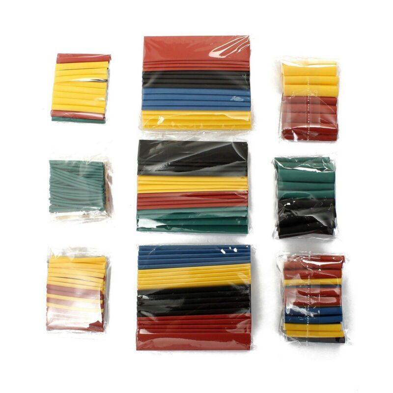 328pc  2:1 Polyolefin Heat Shrink Tubing Tube Sleeve Wrap Wire Assortment 8 Size