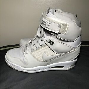 best loved 00971 2efca ... discount code for rare nike air revolution sky hi womens us size 7.5  sail magnet grey