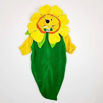 The Disney Store Winnie The Pooh Flower Costume Infant 0-3 Months Warm - Infant Winnie The Pooh Costume
