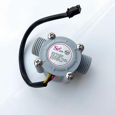 G12 Water Flow Hall Sensor Switch Flow Meter Flowmeter Counter 1-30lmin